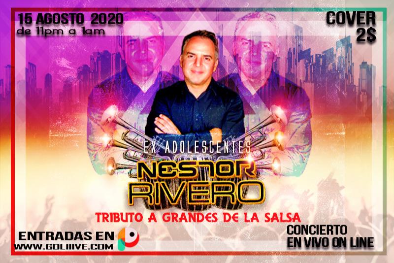 Néstor Rivero, Tributo a Grandes de la Salsa MX