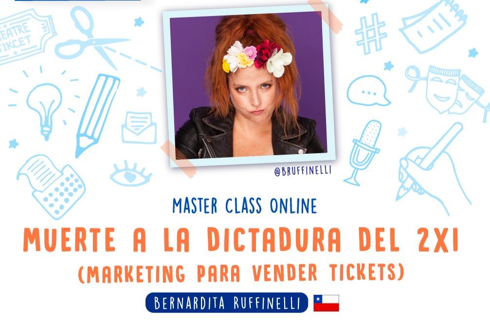"""Masterclass """"Muerte a la dictadura del 2x1"""" Marketing para vender Tickets"""
