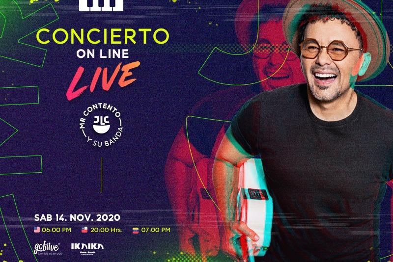 Concierto On Line Live de Jorge Luis Chacín