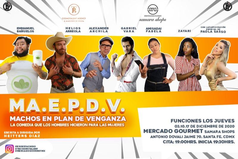 MA.E.P.D.V. Machos En Plan De Venganza
