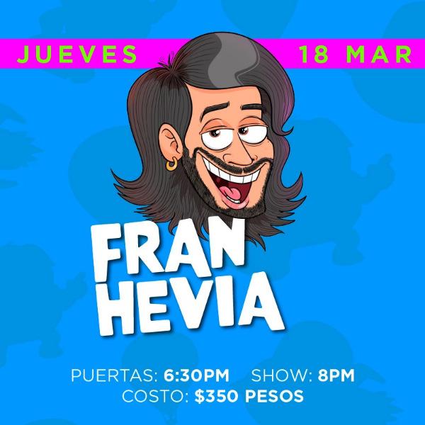Fran Hevia ( Jueves )