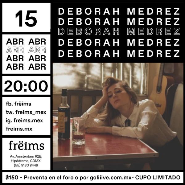 Deborah Medrez en Frëims