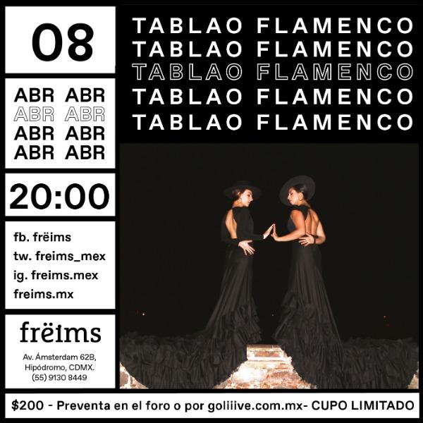 Tablao Flamenco en Frëims