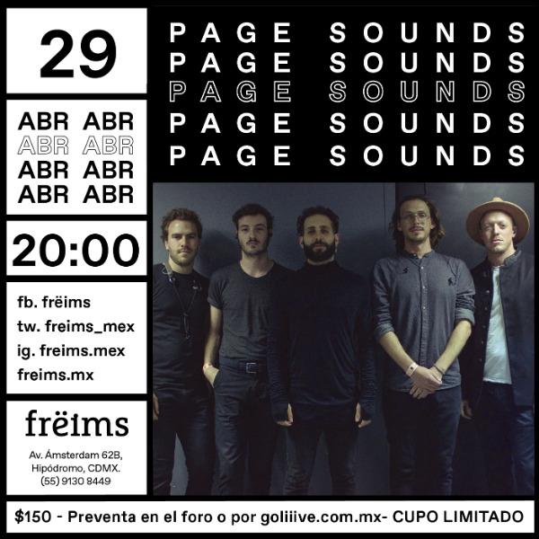 Page Sounds en Frëims