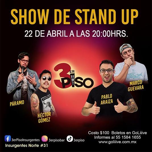 Show de Stand Up 3er piso
