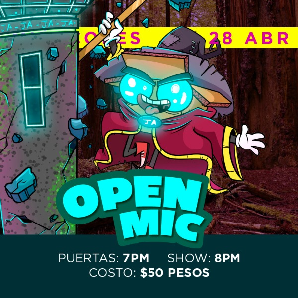 Open Mic - 28 Abril