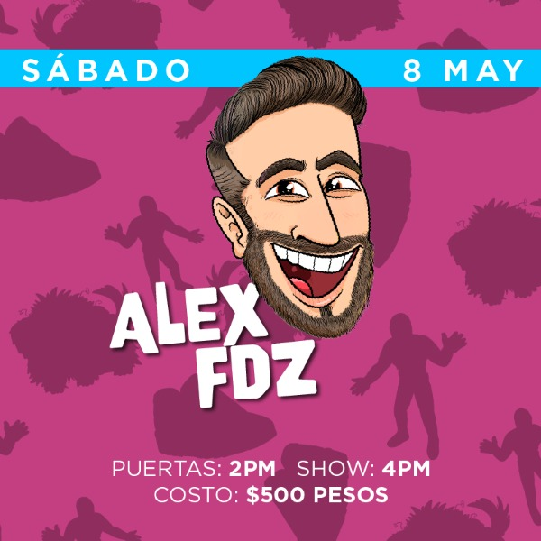 Alex Fdz ( Sábado 4pm )