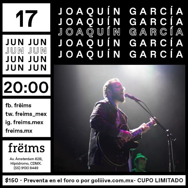 Joaquín García en Frëims