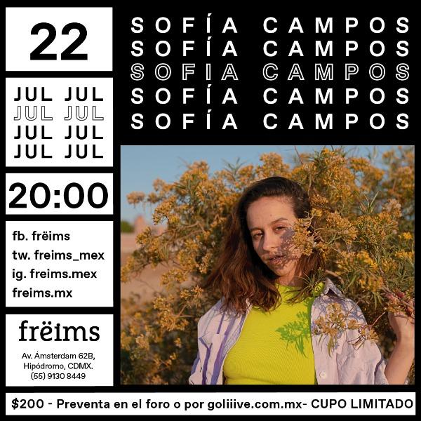 Sofía Campos en Frëims