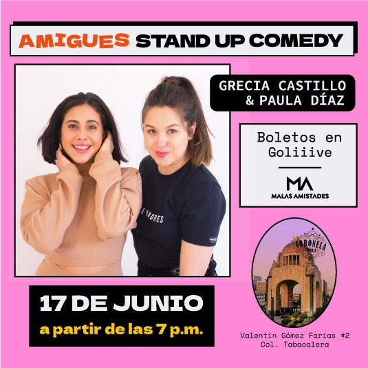 Amigues Stand Up Comedy Show