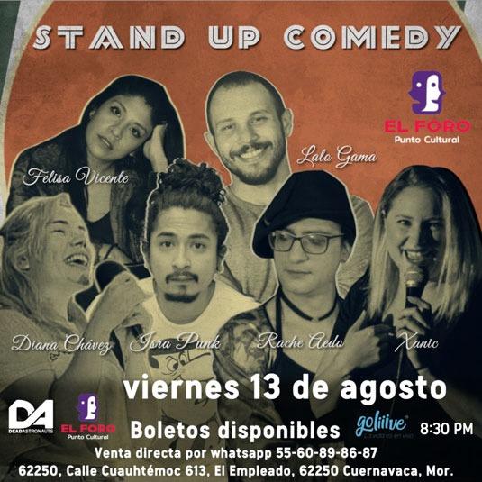 Stand Up Comedy en Cuernavaca Morelos