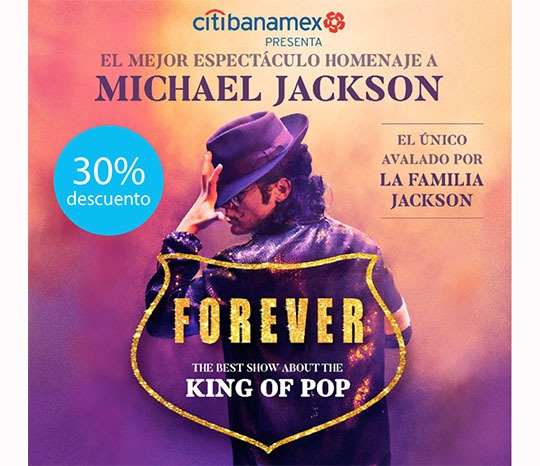 """FOREVER """"The best show about the King of Pop"""""""