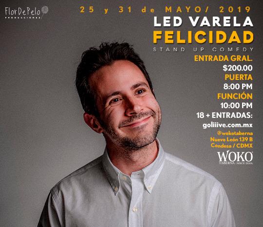 Felicidad, Stand up comedy