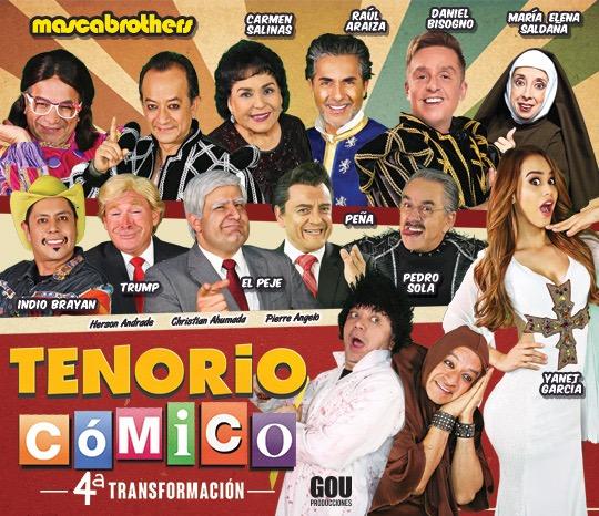 TENORIO CÓMICO CUARTA TRANSFORMACIÓN