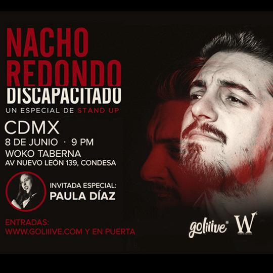 Nacho Redondo Discapacitado