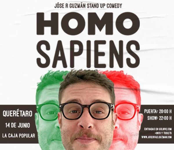 Homosapiens Stand Up Comedy en QUERÉTARO