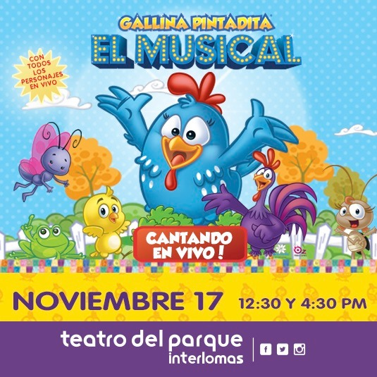 Gallina Pintadita, el Musical 2019