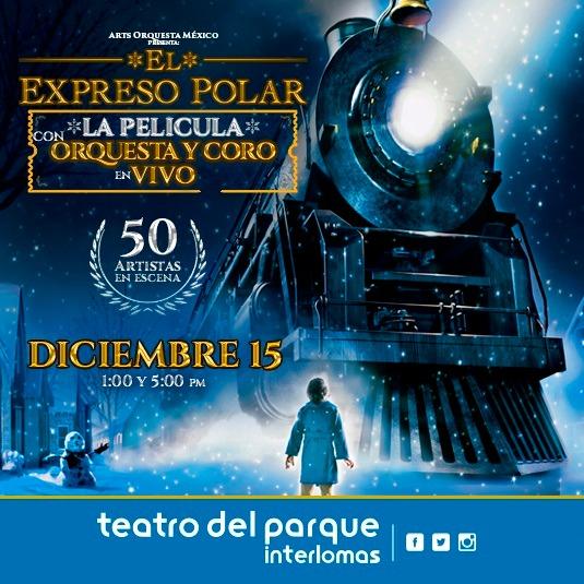 El Expreso Polar la película con orquesta en vivo