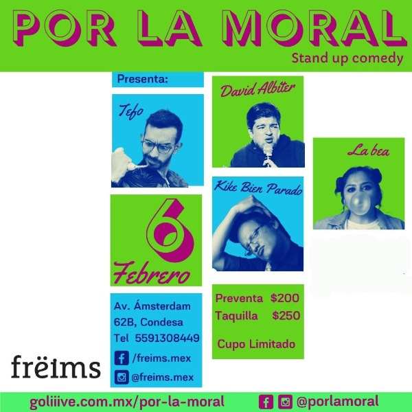 Por la moral (2x1)
