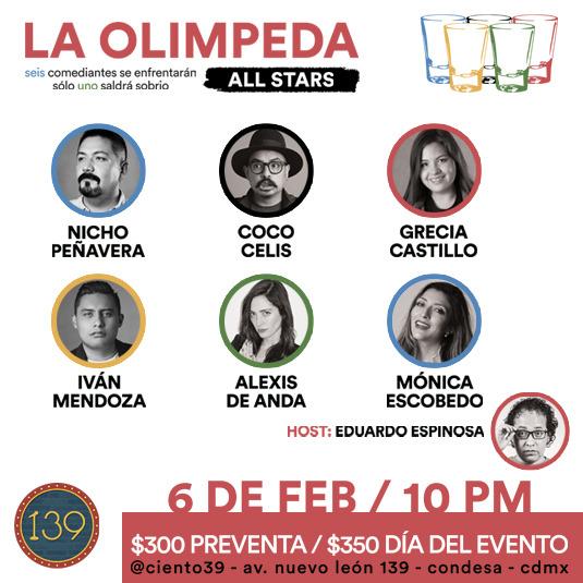 La Olimpeda All Stars