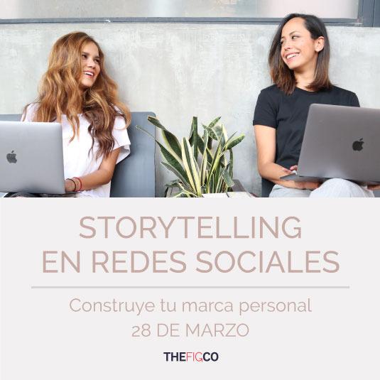 Taller de Storytelling en Redes Sociales