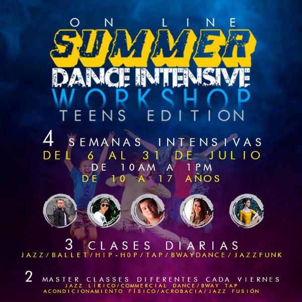 Curso De Verano Intensivo De Danza (Teens Edition)