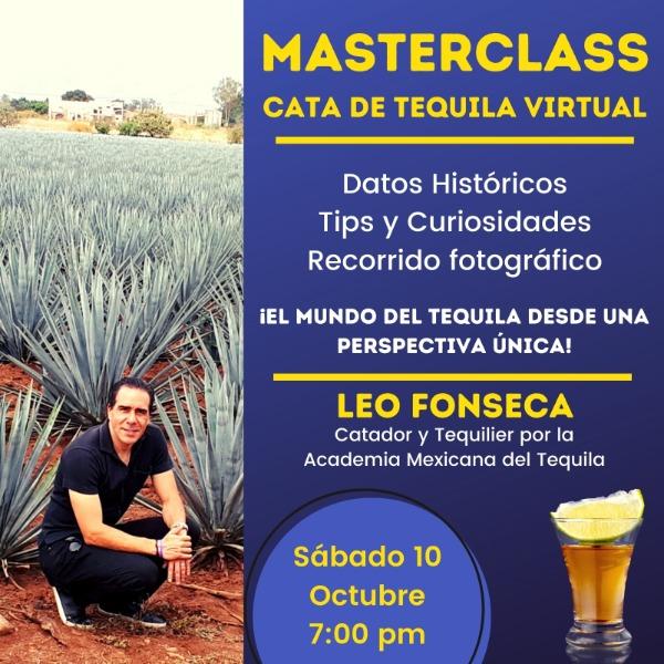 Masterclass Cata de Tequila con Leo Fonseca