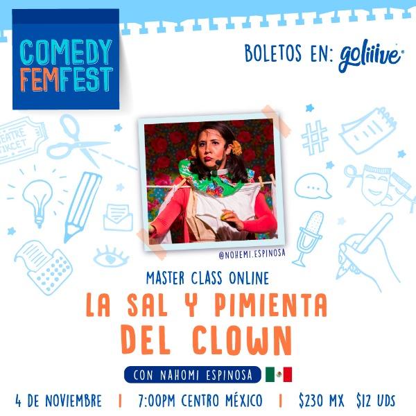 """Masterclass """"La sal y pimienta del Clown"""""""