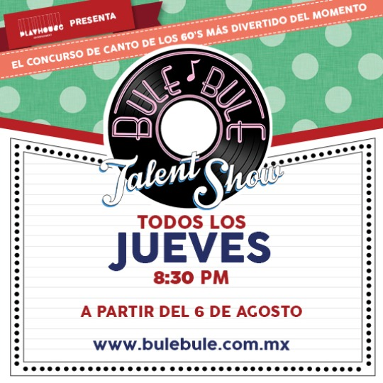 Bule Bule, Talent Show -Rumbo a la Final-