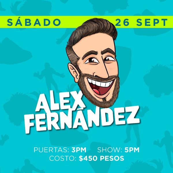 Alex Fernández ( Sábado 5PM )