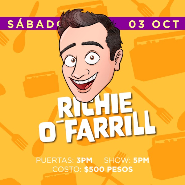Richie O´Farrill ( Sábado 5pm )