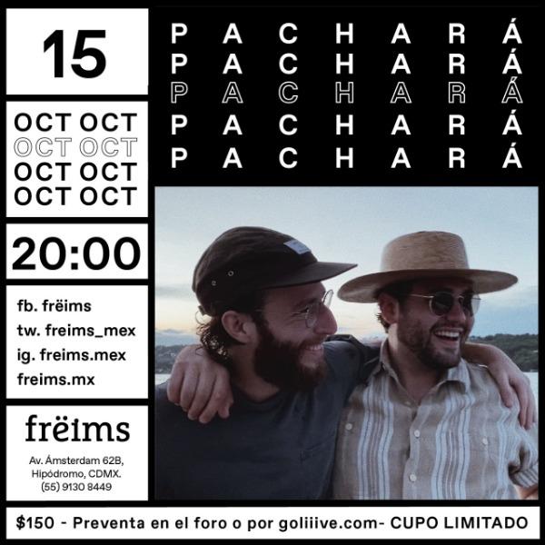 Pachará en Frëims