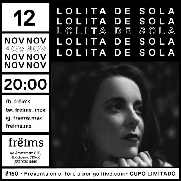 Lolita de Sola en Frëims