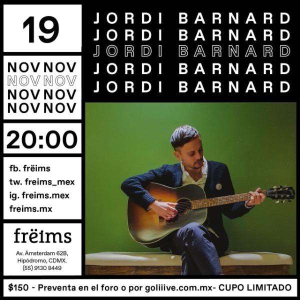 Jordi Barnard en Frëims