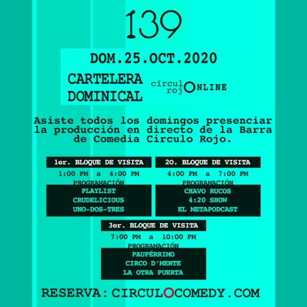 La Cartelera Dominical