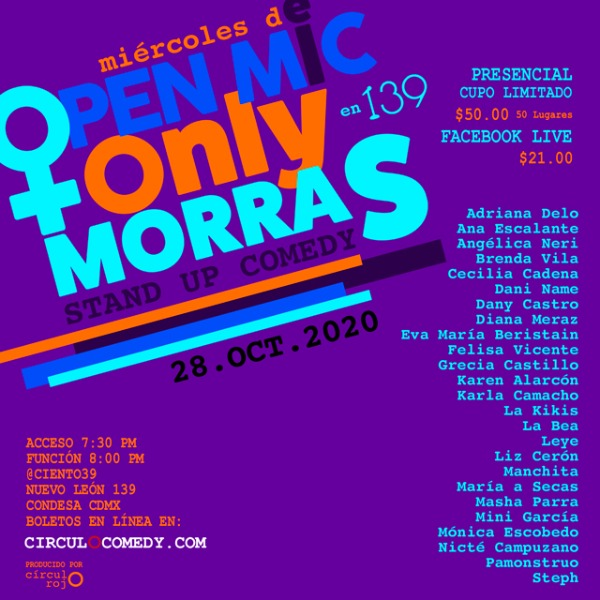 Open Mic Only Morras Stand Up Comedy