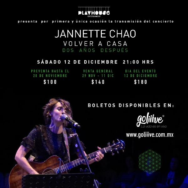Jannette Chao - Volver a Casa