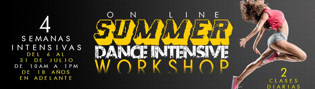 Summer Dance Intensive Workshop Online