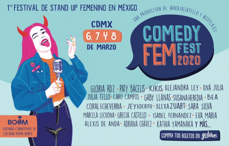Comedy Fem Fest ONLINE